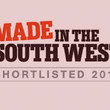 Shortlisted for Made in the South West Awards 2016